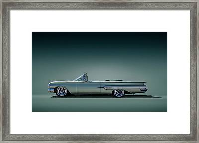 60 Impala Convertible Framed Print by Douglas Pittman
