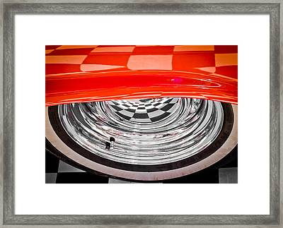60s Look Framed Print by Phil 'motography' Clark
