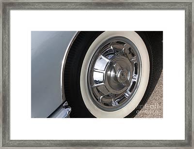 61 Corvette-grey-wheel-9236 Framed Print by Gary Gingrich Galleries