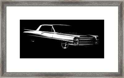 63 Coupe De Ville Framed Print by motography aka Phil Clark