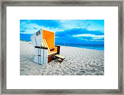 65 Invites Framed Print by Hannes Cmarits