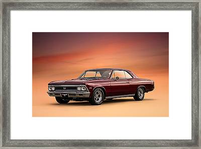 '66 Chevelle Framed Print by Douglas Pittman