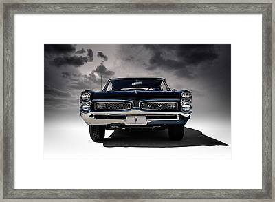 '67 Gto Framed Print by Douglas Pittman