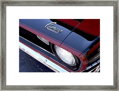 '68 Camaro Framed Print by Mike Maher