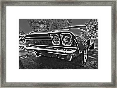 68 Chevelle Framed Print by Cheryl Young