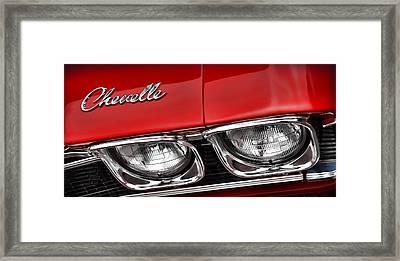 '68 Chevelle Ss Framed Print by Gordon Dean II
