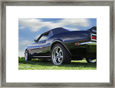 68 Chevrolet Camaro Framed Print by Mike McGlothlen