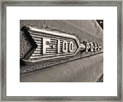 69 F-100 Framed Print by JC Findley