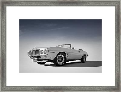 69 Firebird Convertible Framed Print by Douglas Pittman
