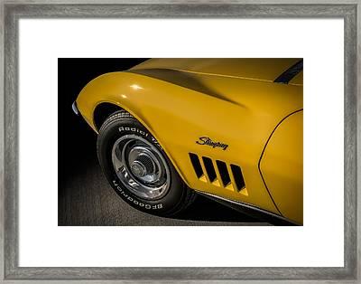 '69 Stinger Framed Print by Douglas Pittman