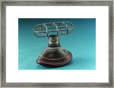 Anaesthesia Mask Framed Print by Science Photo Library
