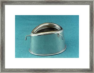 Anaesthetic Inhaler Framed Print by Science Photo Library