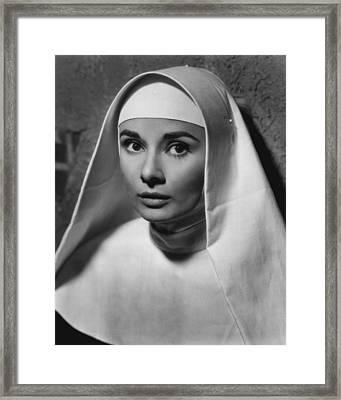 Audrey Hepburn Framed Print by Retro Images Archive