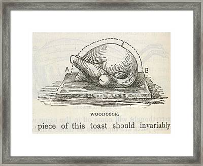 Beeton's Book Household Management Framed Print by British Library