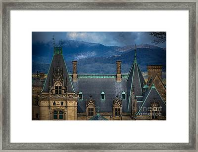 Biltmore Estate Framed Print by Doug Sturgess