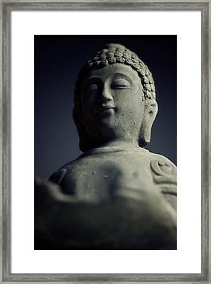 Buddha Framed Print by Falko Follert