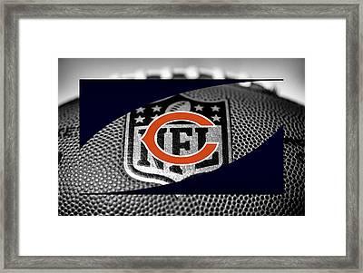 Chicago Bears Framed Print by Joe Hamilton