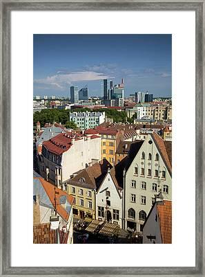 Estonia, Tallinn Framed Print by Jaynes Gallery