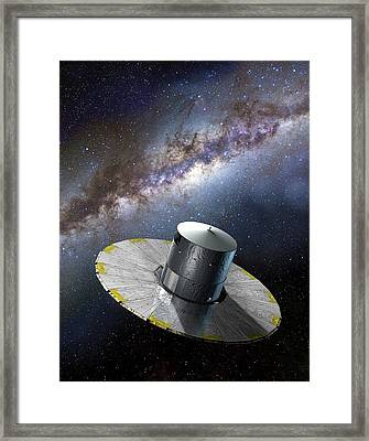 Gaia Space Probe Framed Print by D Ducros/european Space Agency
