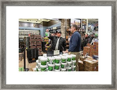 Gun Store Framed Print by Jim West