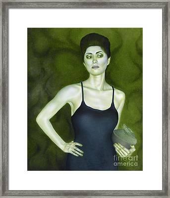 7 Invidia Framed Print by Lorena Rivera