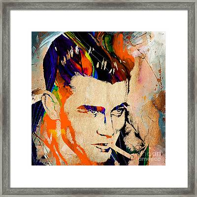 James Dean Collection Framed Print by Marvin Blaine
