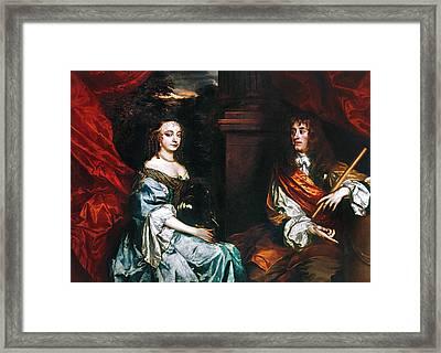 James II (1633-1701) Framed Print by Granger