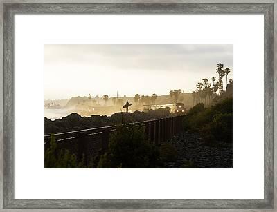 7 Framed Print by Joey  Maganini