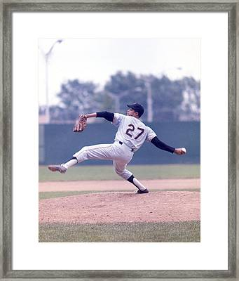 Juan Marichal Framed Print by Retro Images Archive