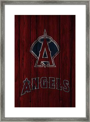 Los Angeles Angels Framed Print by Joe Hamilton