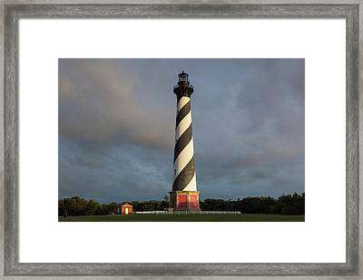 North Carolina, Cape Hatteras National Framed Print by Walter Bibikow