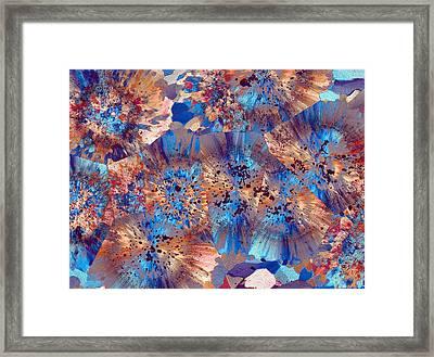 Ocean Jasper Framed Print by Bernardo Cesare