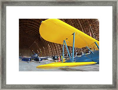Or, Tillamook, Tillamook Air Museum Framed Print by Jamie and Judy Wild