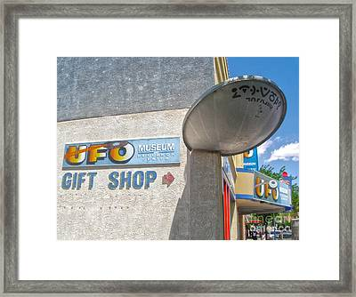 Roswell New Mexico Framed Print by Gregory Dyer