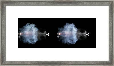 Shotgun Shot Framed Print by Herra Kuulapaa � Precires