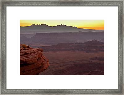 Usa, Utah, Dead Horse Point State Park Framed Print by Jaynes Gallery
