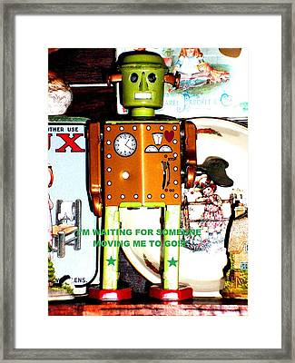 Vintage Pop Framed Print by Donatella Muggianu