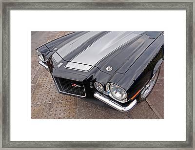 71 Camaro Z28 Framed Print by Gill Billington