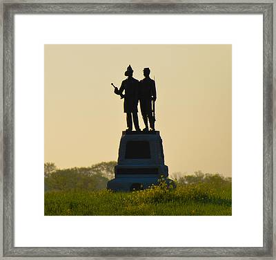 73rd Ny Infantry 2nd Fire Zouaves Framed Print by Bill Cannon