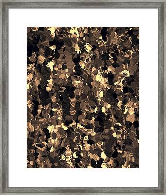 Abstract Framed Print by Lee Ann Asch