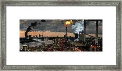 780a? A?? Industrial Pleasure Framed Print by Rainer Inderst