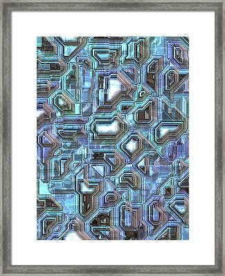 Abstract  Framed Print by Mark Brooks