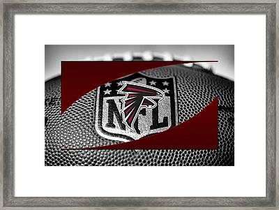 Atlanta Falcons Framed Print by Joe Hamilton