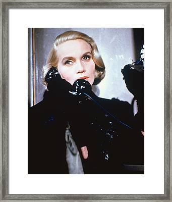 Eva Marie Saint Framed Print by Silver Screen