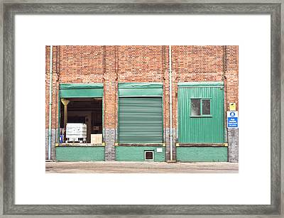 Factory Framed Print by Tom Gowanlock