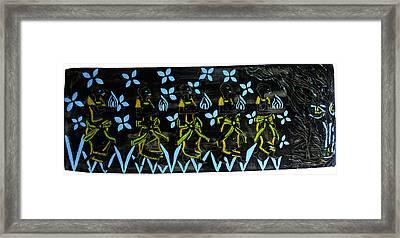 Five Wise Virgins Framed Print by Gloria Ssali
