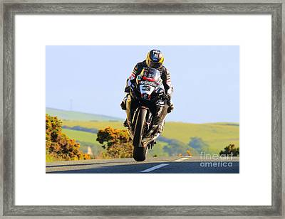 Guy Martin   Framed Print by Richard Norton Church