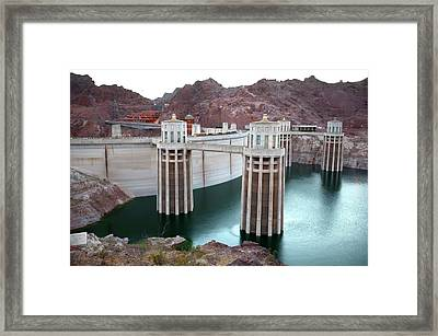 Hoover Dam Framed Print by Jim West