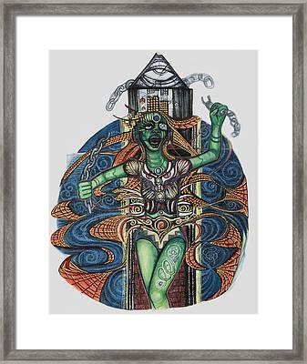 8 Framed Print by Jessica McLellan