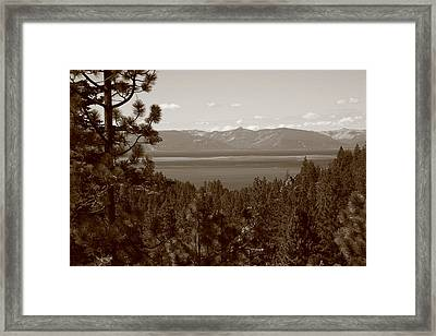Lake Tahoe Framed Print by Frank Romeo